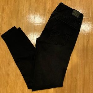American Eagle Black Jeggings